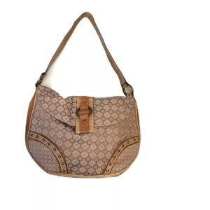 Nine West Small Beige Shoulder Bag Purse